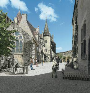 EXPOSITION - Trois regards de photographes contemporains sur Châteauneuf