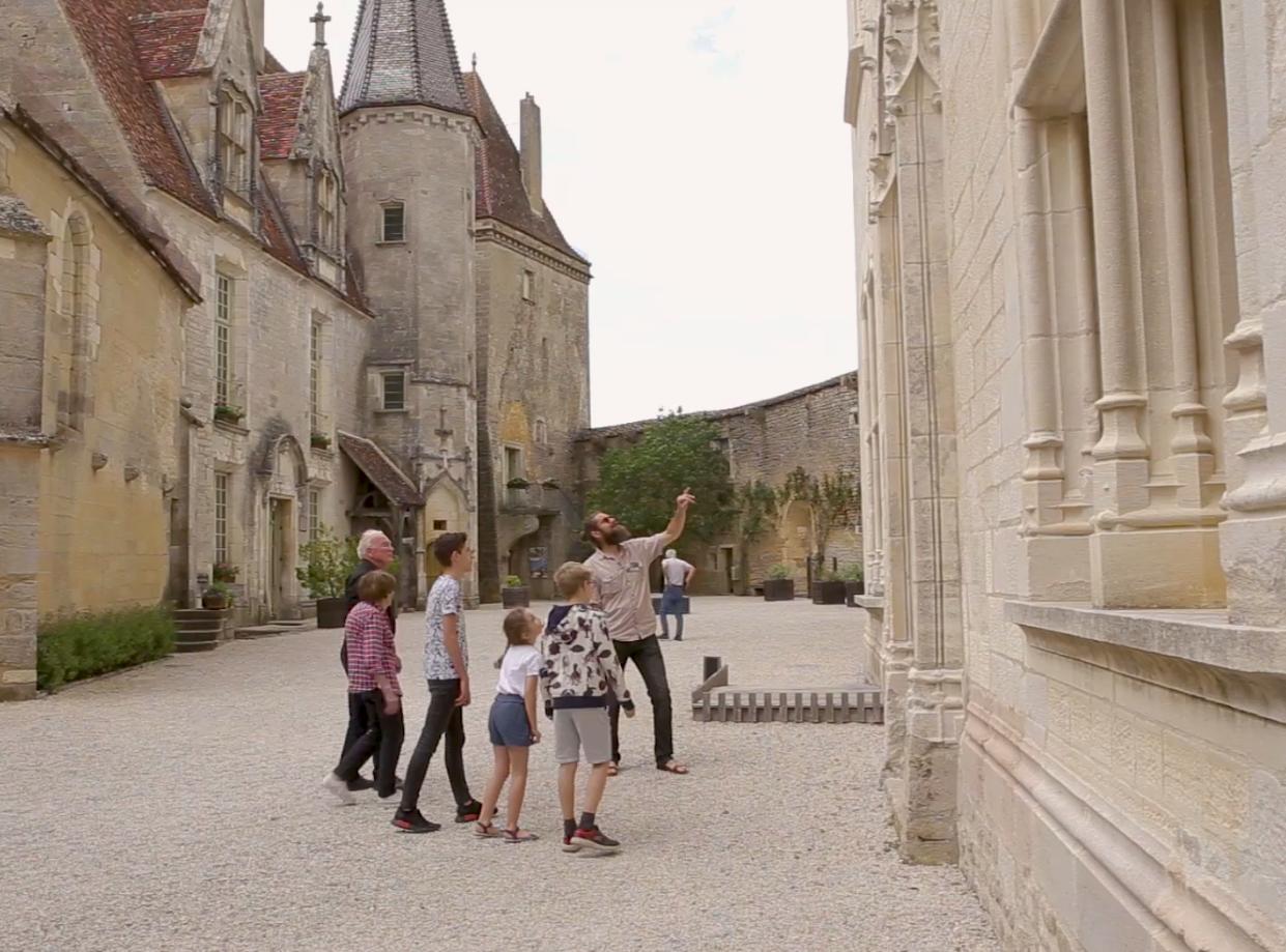 Visite guidée du château