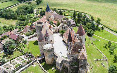 Visite du château à vol d'oiseau !