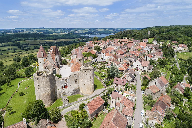 Visite guidée du château et du village