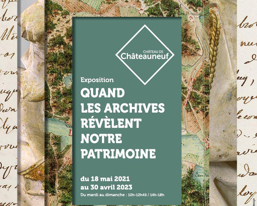 Exposition «Quand les archives révèlent notre patrimoine»