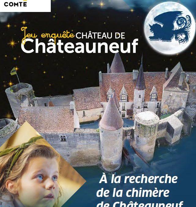 30/10/2021 – 30 octobre – Visite ludique « A la recherche de la chimère de Châteauneuf »