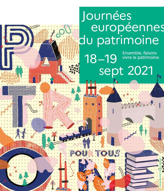 18/09/2021 – 18 et 19 septembre – Journées européennes du patrimoine